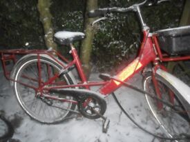 Bike royal mail bike