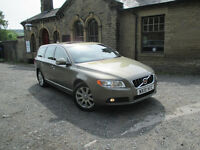 Immaculate 2010/10 Volvo V70 2.4 D5 SE Lux [205bhp] RARE 6 Speed Manual Estate - FSH - 1 Owner -Lthr