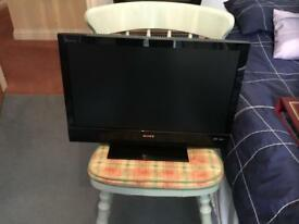 Sony Bravia 21 inch tv with built in DVD player