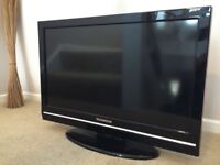 """32"""" LCD TV BUILTIN FREEVIEW HDMI PORTS WITH REMOTE CAN DELIVER"""