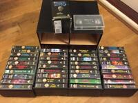 Doctor Who VHS Videos 43 in total plus case