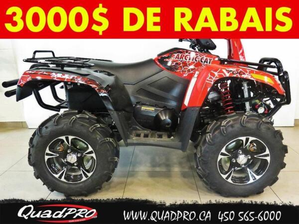 Used 2014 Arctic Cat MUD PRO 700 LIMITED EPS !! 3400 $ DE RAB