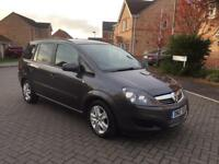 2012 VAUXHALL ZAFIRA 1.6 DIESEL EXCLUSIVE , MOT 12 MONTHs, FULL SERVICE HISTORY, CRUISE , HPI CLEAR