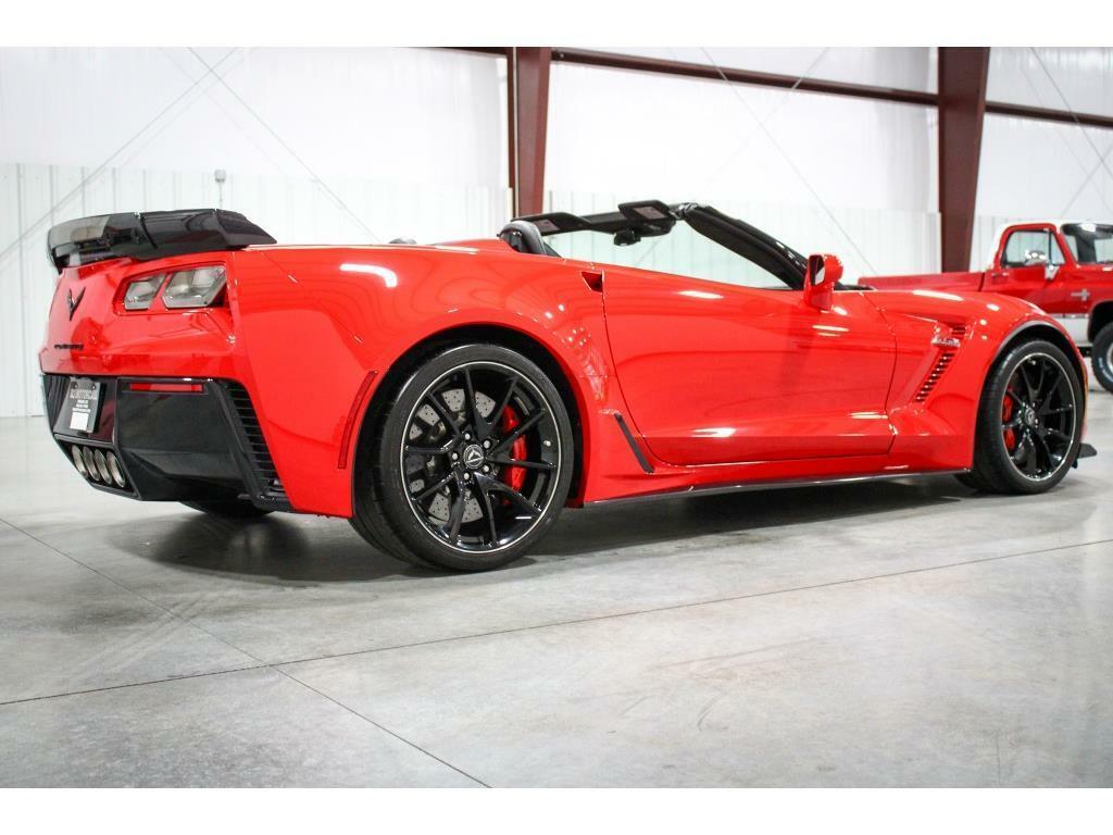 2017 Red Chevrolet Corvette Z06 3LZ   C7 Corvette Photo 5