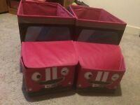 2 Camper Van Toy Storage Boxes - BARGAIN!!
