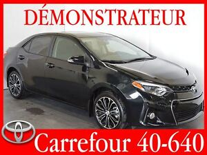 2016 Toyota Corolla S Mags+toit ouvrant+bluetooth+siege chauff+c