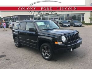 2015 Jeep Patriot LTHR, NAV, 4X4, MOONROOF, LOW KM'S!