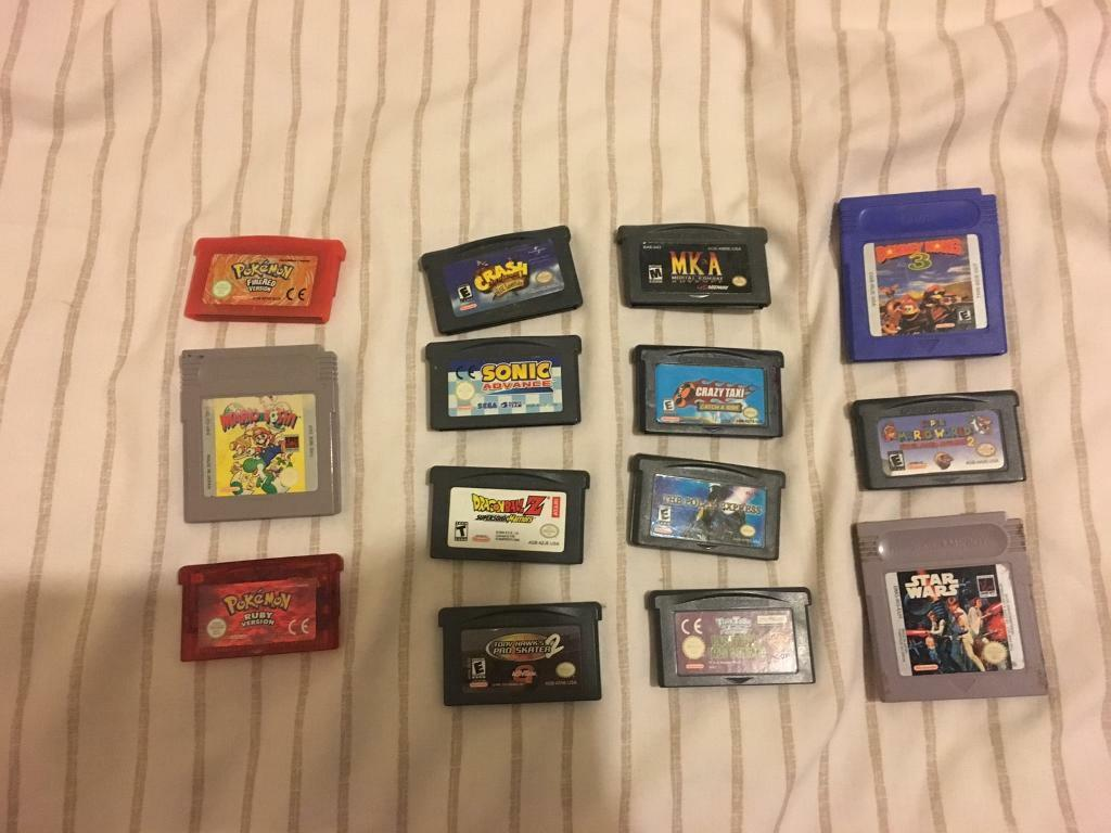 14 GameBoy Games job lot