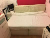 Double duvan bed free