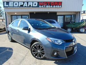 2014 Toyota Corolla S,Leather,Sunroof,Heated Seats*Low Km*
