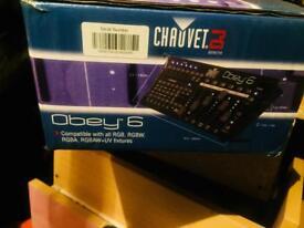 Chauvet Obey 6 DMX Lighting controller System
