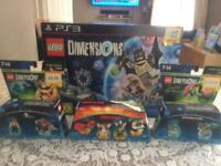 Ps3 lego dimensions set