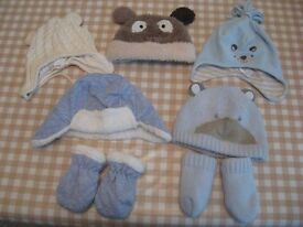 Baby / Toddler hats and gloves