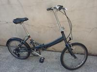 Folding Bike- Raleigh Frame Material: Aluminium Model: EVO7SP