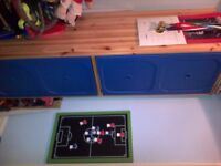 Childs wardrobe and drawer set