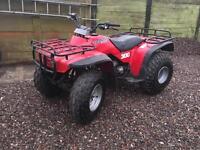 Honda TRX 300 2wd ATV, quad bike, Big Red