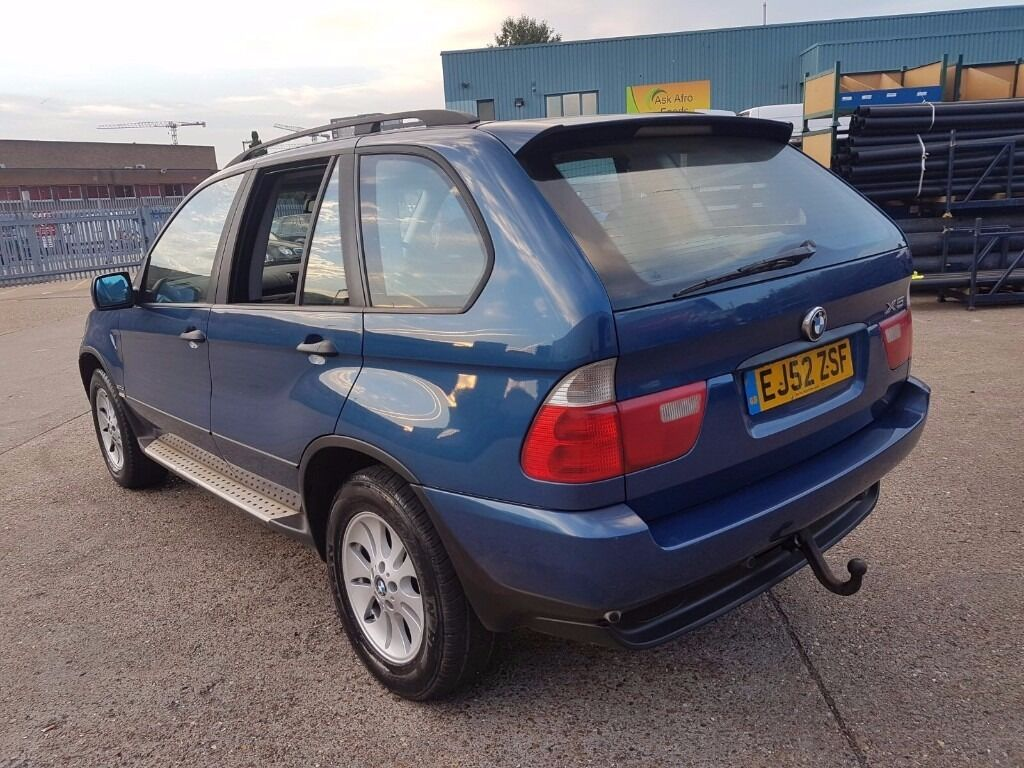 FOR SALE BMW X5 2002 DIESEL ONLY £2795 NEW TURBO AUTOMATIC PART EXCHANGE WELCOME
