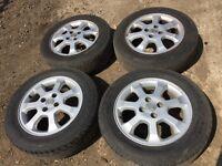 """Vauxhall corsa / Astra 15"""" alloy wheels - good tyres"""