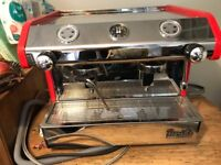 Barista Maidaid compact espresso machine, double plus grinder and all the extras.