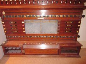 Very Old Vintage Snooker Board