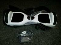 Segway hoverboard 2 wheel scooter brand new white