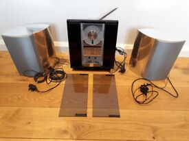 Bang & Olufsen BeoSound Ouverture 2632 with two Beolab 4000 Silver Speakers