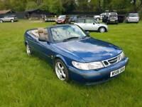 Saab 9-3 convertible full years mot fsh cheap convertible car Kent