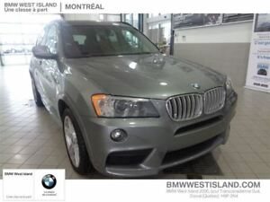 2014 BMW X3 xDrive35i MSPORT, NAVIGATION CERTIFIED 6YRS/160000