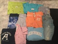 Bundle of Genuine Hollister Clothing Size S/M!!