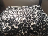 Full set of faux fur car seat covers for sale