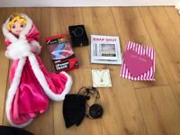assortment of womens accessories