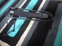 Bicycle cycle bike rear Pannier rack carrier max 25kg new condition never been used.