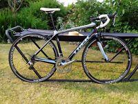 TREK Madone WSD carbon bike. Shimano DuraAce, 105 and Reynolds wheelset.