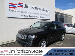 2015 Jeep Compass 2.4L 4X4 High Altitude w/ Leather, Roof & Blue