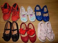 Girls size 7 shoes - mostly NEXT, plus Monsoon Choose what you wish or bundle price