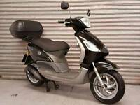 2007 57 PIAGGIO FLY 125 SCOOTER FULL MOT LOW MILEAGE