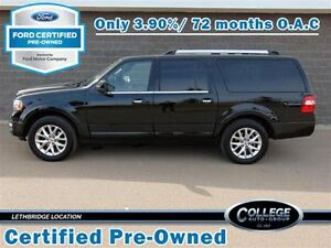 2016 Ford Expedition Max Limited (Certified Pre-Owned)