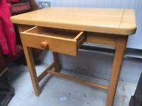 Solid wood kitchen prep table FREE DELIVERY PLYMOUTH AREA
