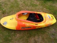 Pyranha Jed connect 30 yellow / orange small kayak