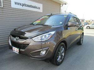2014 Hyundai Tucson HEATED LEATHER-BACK-UP CAM-FULL GLASS ROOF!!