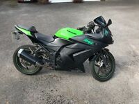 Kawasaki ninja 250r 2009 good condition painted special