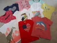 10 Girls T Shirts Age 6