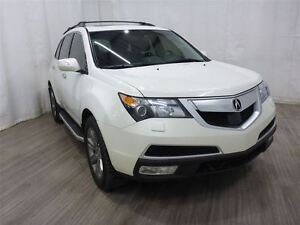 2011 Acura MDX Elite Package DVD Leather Navigation