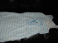 Used, Baby Sleeping Bag from 'PitterPatter', 18- 24 months, 2.5 Togs. From smoke and pet free house.