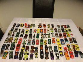 Hotwheels cars and mat