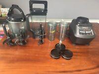 Ninja Mega Kitchen System 1500 - Blender, Food Processor and Nutri Ninja Cups