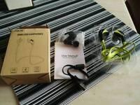 Anear wireless sports earphones