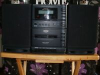 Matsui CD Cassette ,Radio