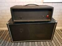 Vintage solid state amp and speaker