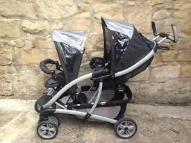 Graco Double Two Baby Buggy / Pushchair / Pram